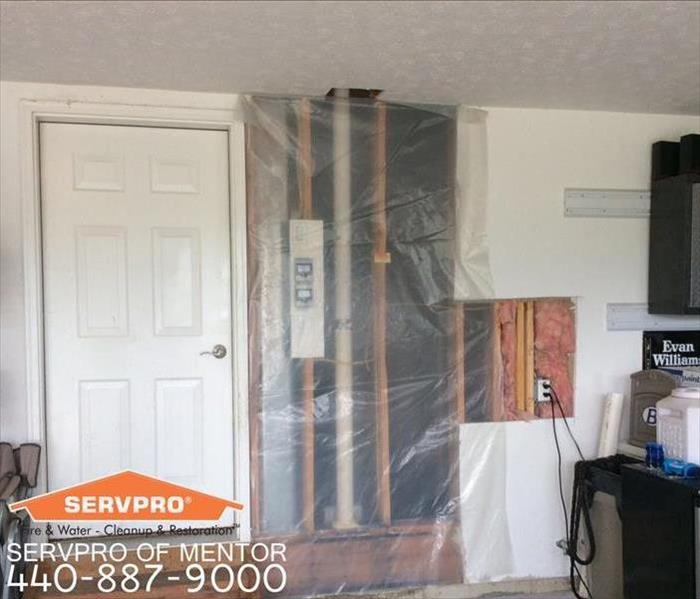 Water Damage in Mentor, OH After